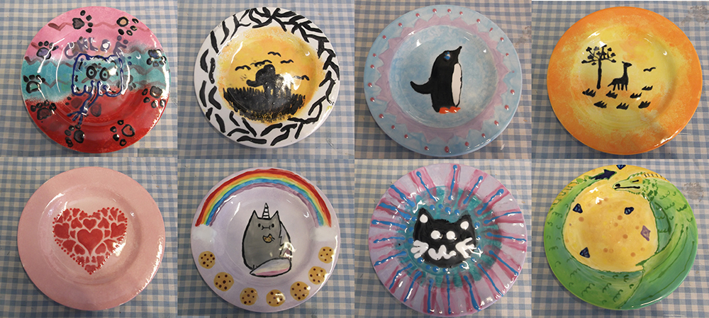 Brownie group plates