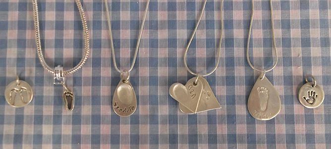 Silver Bee charms and pendants
