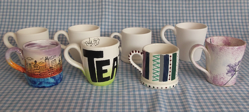 Time for a quick cuppa mugs